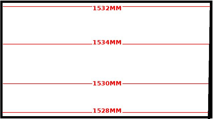 Exemple de prise de mesures pour une verrière