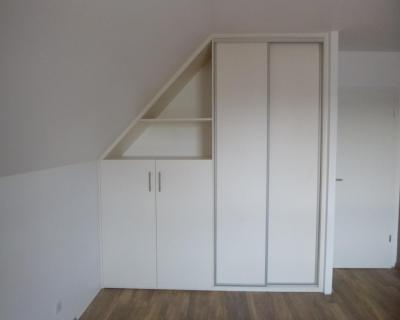 Photos de mes chantiers, album 05 dressing - Armoire murale sur mesure.